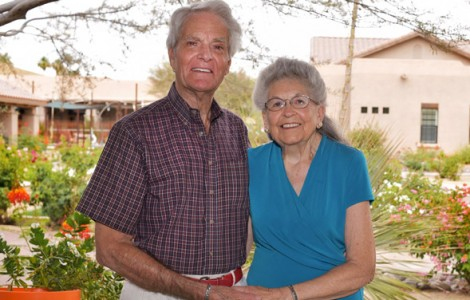 Residents Irietys and Roger Burrows are Enjoying a Friendly, Carefree Lifestyle at The Fountains