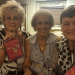 Roberta Linn posing with a couple of our residents.