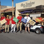 Group photo of the associates and resident who rode in the parade.