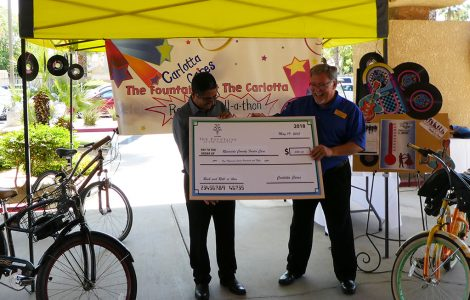 Carlotta Cares Exceed Donation Goal for Local Foster Children