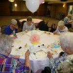 Residents playing Baby BINGO.