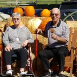 Residents enjoying an afternoon and outing in Oak Glenn apple country.