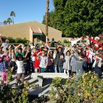 Ronald Reagan Elementary School Kindergarten Class performing their Christmas caroling for our residents.