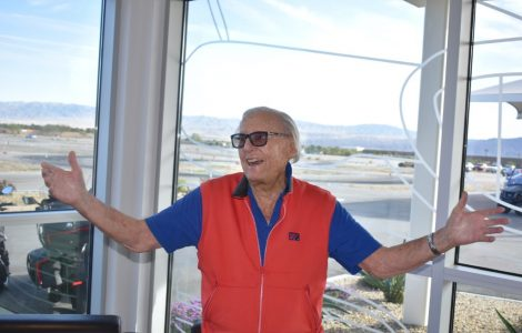 Carlotta Resident Spends 96th Birthday on the Race Track