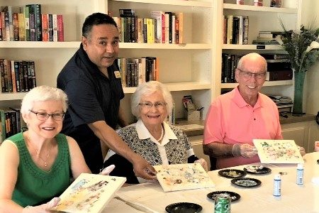 """Rafael Inspires Residents To Discover """"The Artist Within"""" During Watermark University Class"""